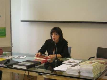 La scrittrice Laura Stanisci