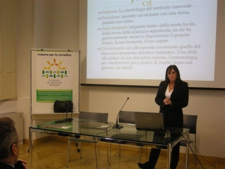 L'introduzione della dott.ssa Simonetta Lambiase