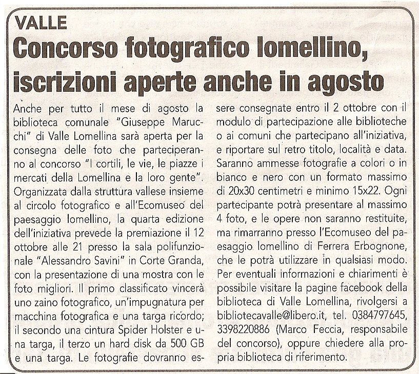 2013-07-31 La Lomellina