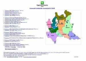 Ecomusei Lombardia mappa