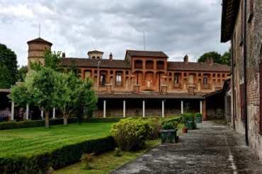 Frascarolo, Castello visconteo