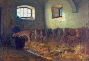 Stalla Angelo Morbelli 1886