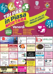 Mortara Tri pas in piasa