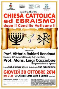 Valle Chiesa catt Ebraismo