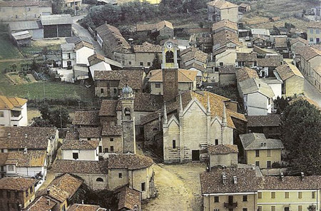 Veduta di Rosasco