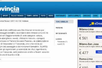 La Provincia Pavese: Rinnovato il sito dell'Ecomuseo