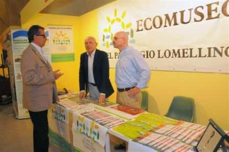 Berzero, Luciano Nieto (direttore Unione Agricoltori di Pavia) e Umberto De Agostino (coordinatore Ecomuseo) Foto L'Immagine Vigevano