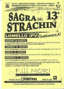 Lomello Sagra dal Strachin