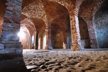 La cripta abbaziale di Breme