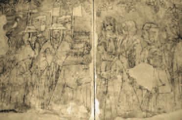 Cozzo, affresco del XV secolo