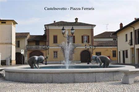 Piazza Ferraris di Castelnovetto