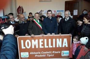 """Il cartello """"Lomellina"""" presentato a Breme"""