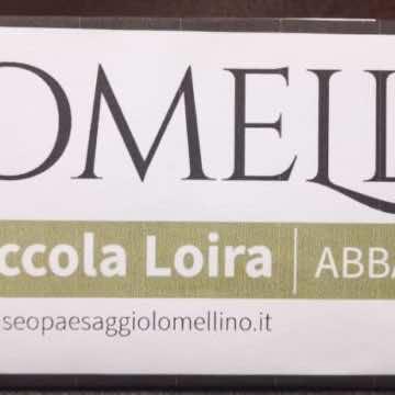 Un banner lomellino nella metropolitana di Milano