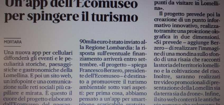 La app turistica (in attesa della risposta della Regione Lombardia)