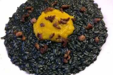 Il risotto di Carbonara incoronato da Raspelli